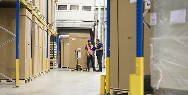 transporteren van industriële goederen